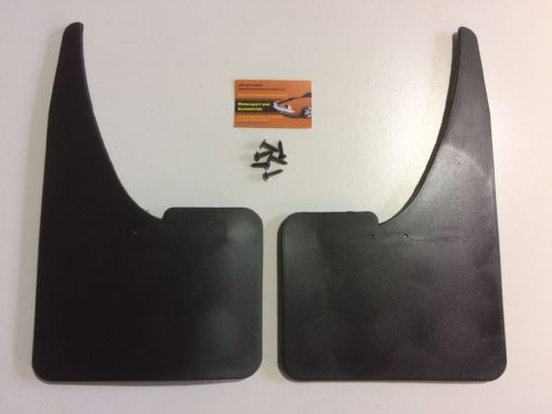 UNIVERSAL Car Rubber Black MUDFLAPS Mud Flaps Pair Of Mudflaps TOP QUALITY